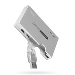 Картридер / Card Reader - C401 - All in One - Silver : фото 2