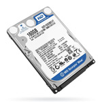 "Жесткий диск 2,5"" Western Digital 320Gb SATA-II 7200rpm"
