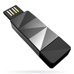 USB флеш-диск - A-Data N702 Silver Ready Boost - 8Gb