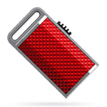 USB флеш-диск - A-Data s701 Sporty Red Ready Boost - 8Gb