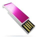 USB флеш-диск - Digma Slyd Pink&White - 2Gb